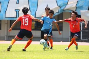 後半は果敢にオーバーラップしてゴールも狙った島崎選手