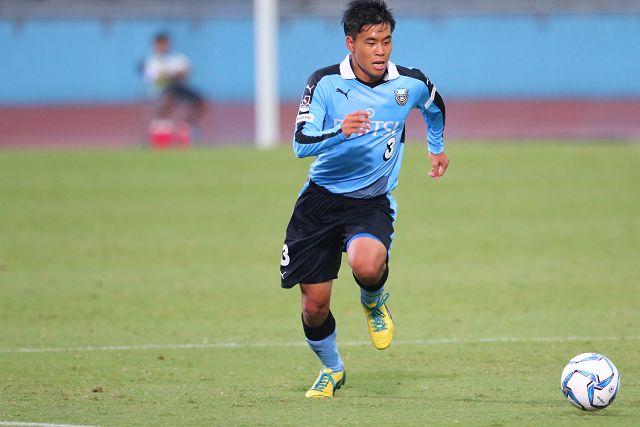 攻撃参加から反撃のゴールをあげた島崎選手