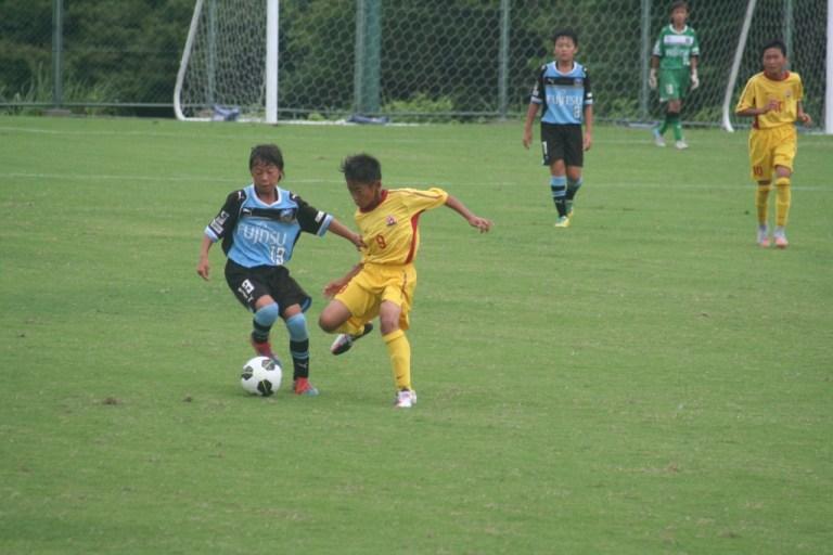 後半から出場した松尾選手