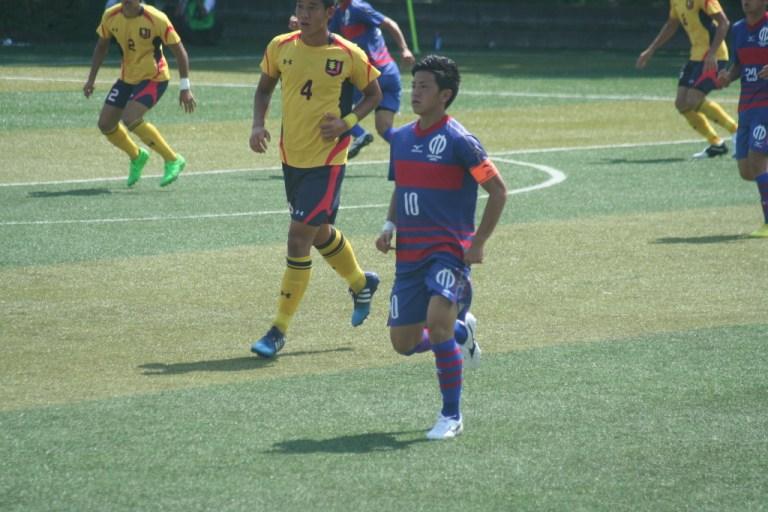 この日もボランチでの出場、長谷川竜也選手