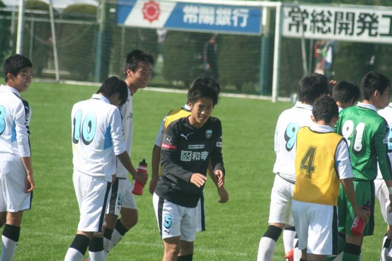コールに応える武田太一選手