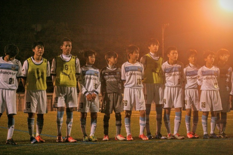 フロンターレU-15の選手たち