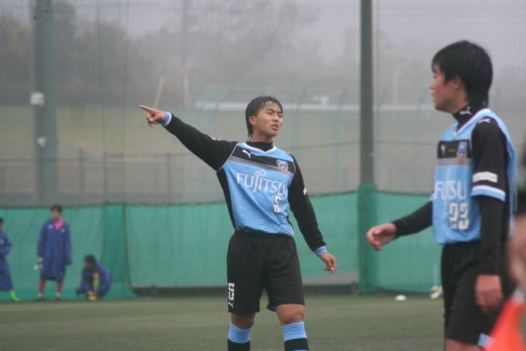 ボランチで先発した安永玲央選手