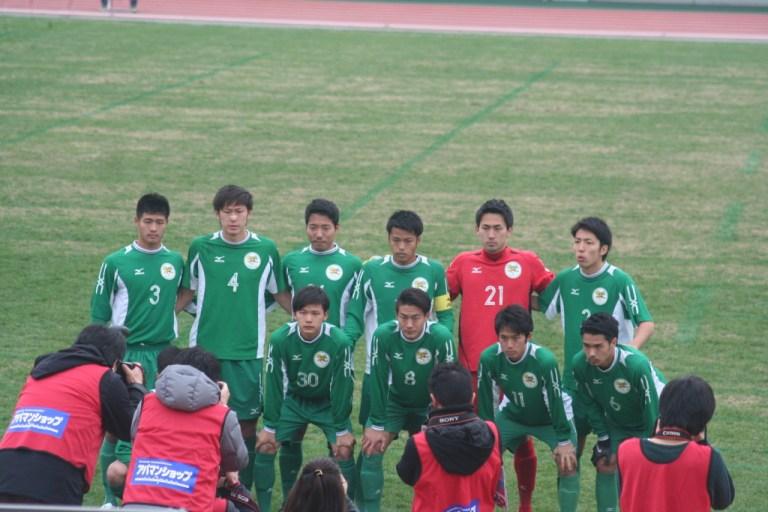 大阪体育大の先発メンバー