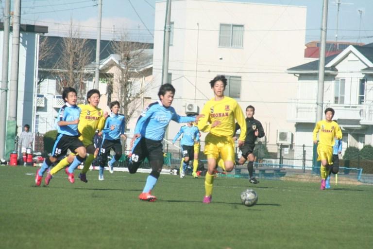 藤井柾人選手。たびたびゴールへ迫った