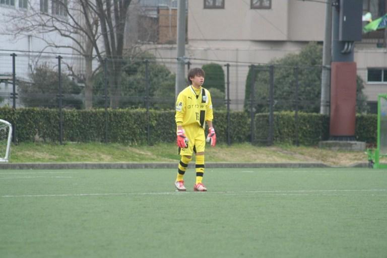 練習試合に出場した鈴木嵐大選手