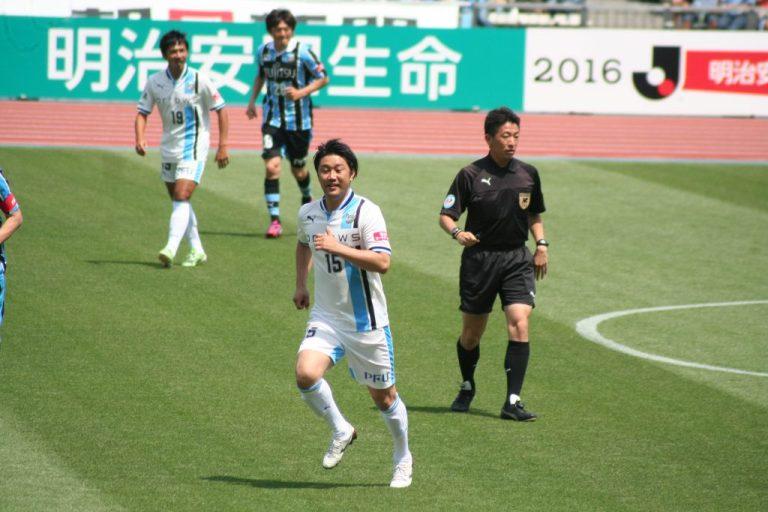 原田拓さん。現在はロアッソ熊本のスタッフ
