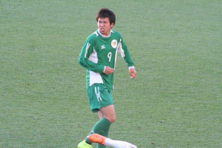 大阪体育大の浅野雄也選手。兄はサンフレッチェ広島の浅野拓磨選手