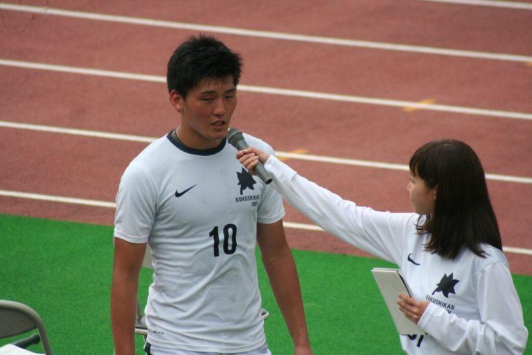 ベストヒーローは国士舘大学、松本孝平選手