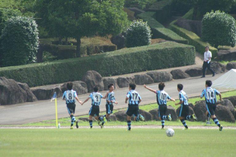 村田聖樹選手のゴールでフロンターレが先制