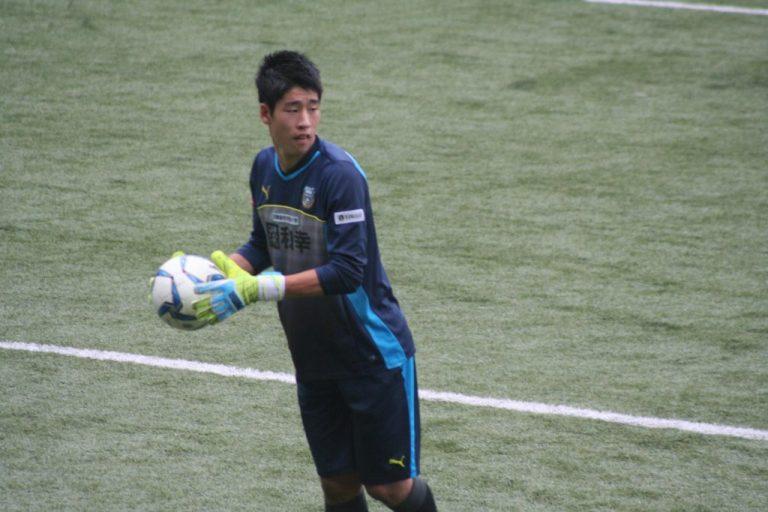 GK早坂勇希選手