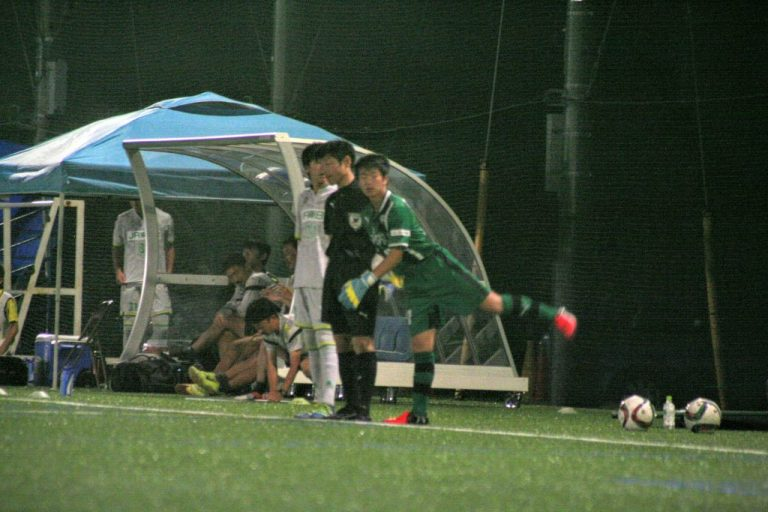 後半からゴールをまもったGK川合我空選手