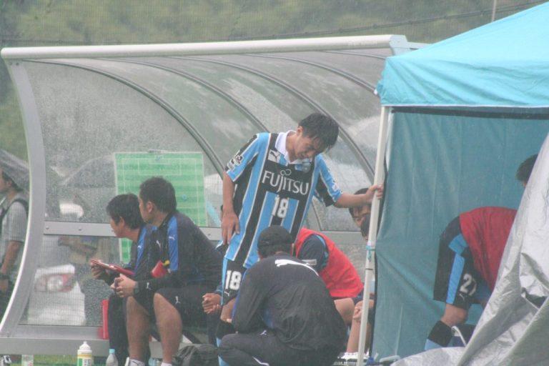 村田聖樹選手は負傷交代となった