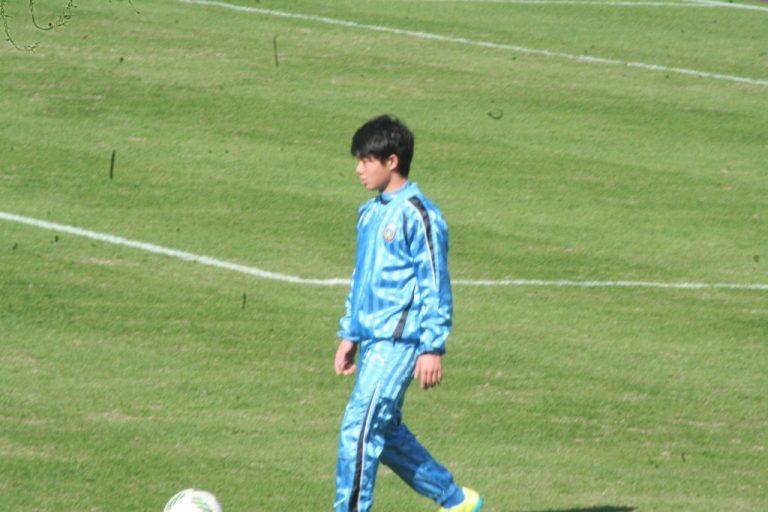 U-13の甲斐翔大選手