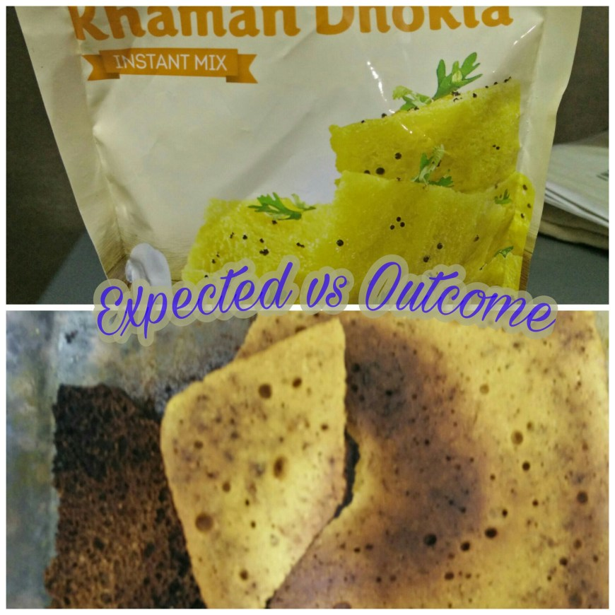 Cooking Disaster: Khaman Dhokla