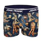 Men's Multi-color Digital Print Boxer