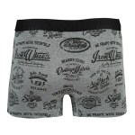 Men's Digital Print Anthracite Boxer