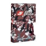Men's Printed Claret Red Boxer