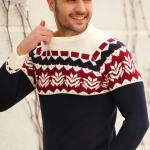 Patterned Pullover