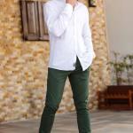 Men's Classic Dark Green Pants