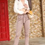 Women's Side Striped Mink Pants