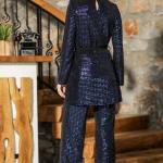 Women's Sequined Saxe 2 Piece Set