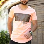 Printed Salmon T-shirt