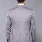Men's Patterned Formal Suit Set