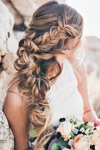 long wedding guest hairstyles