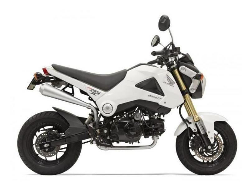 2017 Honda Grom Motorcycles For