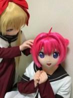 京子があかりのおダンゴを狙う!