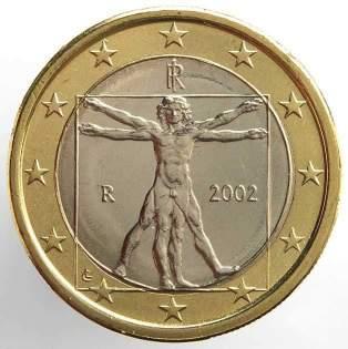 retro moneta da un euro