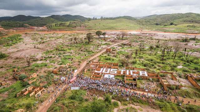 Mariana Disaster: One Year after the Collapse of the Dam. © Yuri Barichivich