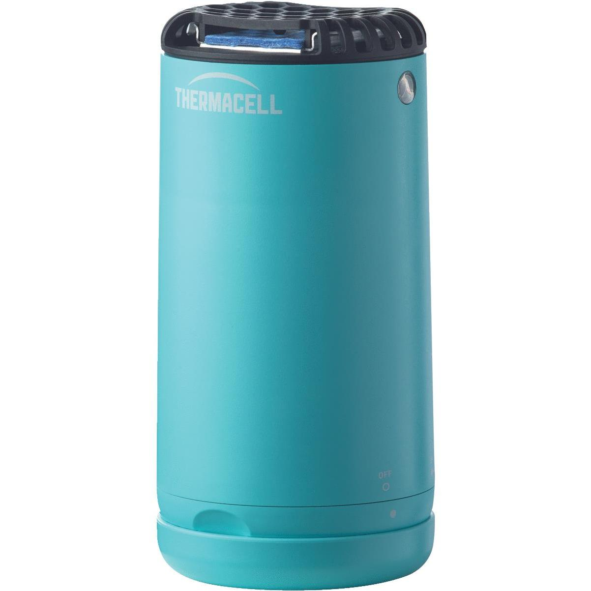thermacell patio shield 12 hr glacial blue mosquito repeller