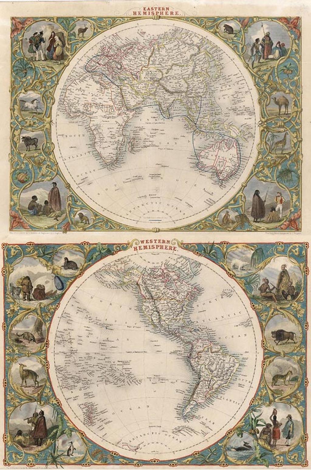 Eastern Hemisphere And Western Hemisphere