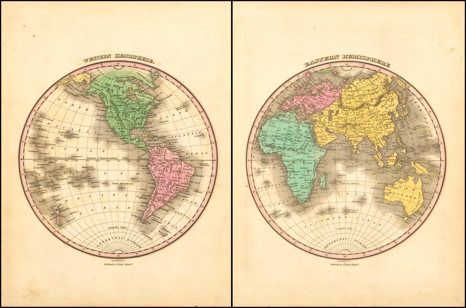 Online Map Around The World 29 Map Of Eastern Hemisphere