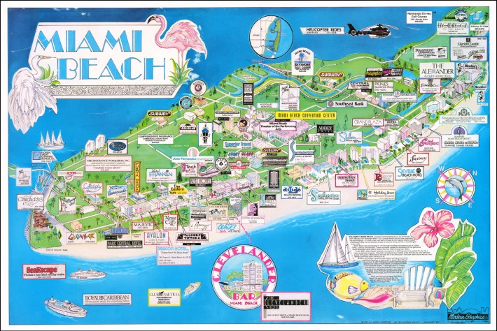 miami beach - barry lawrence ruderman antique maps inc.