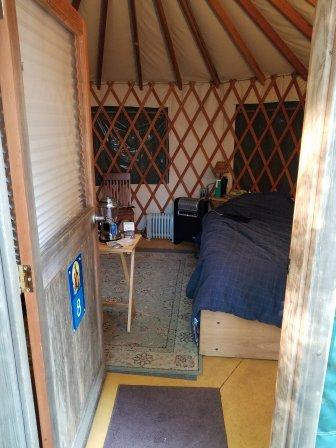 The Yurt (inside)