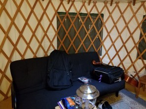The Yurt (inside)