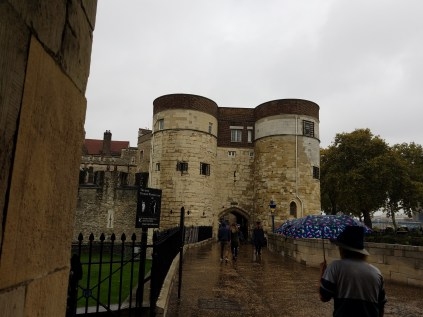 Front of the Tower of London
