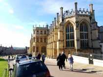 Out side photo of Windsor Castle Chapel