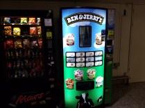 An Ice cream machine in LHR