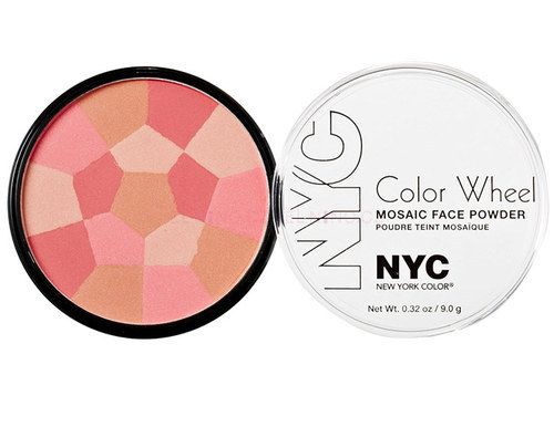 Pudr NYC New York Color Color Wheel Mosaic Face Powder