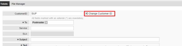 Interface usuário cliente, abertura de chamado