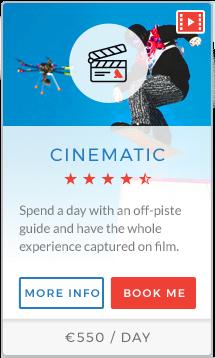 Cinematic Instructor Chamonix
