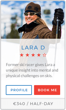 Lara D Instructor Val Thorens