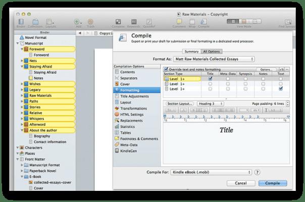 Scrivener 3.1.5 Crack