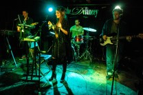 Julia Kahn and The New 45s at The Delancey (glamglare showcase)