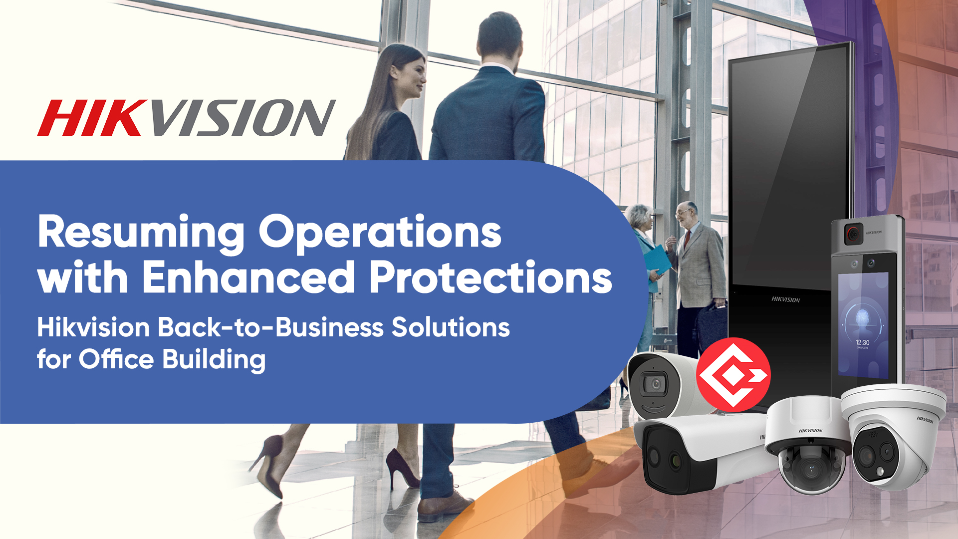 Hikvision Back-to-Business Solutions for Offices