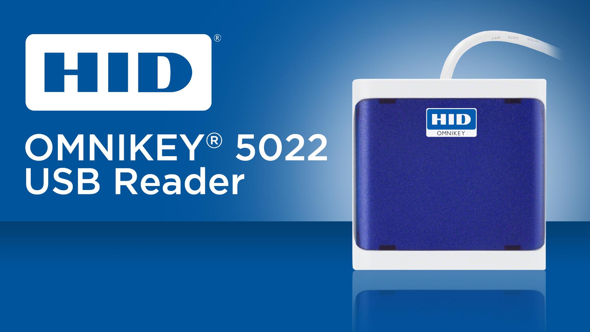 HID Omnikey 5022 USB Reader